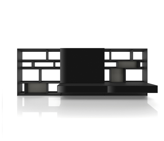 Flat.C by B&B Italia | Wall storage systems