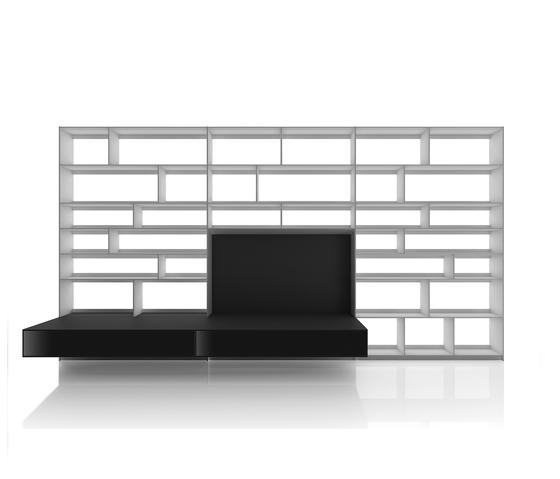 Flat.C de B&B Italia | Wall storage systems