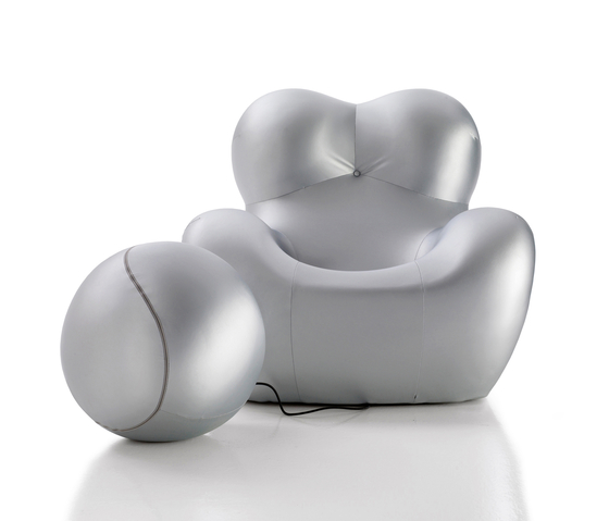 UP5 / UP6 silver by B&B Italia | Armchairs