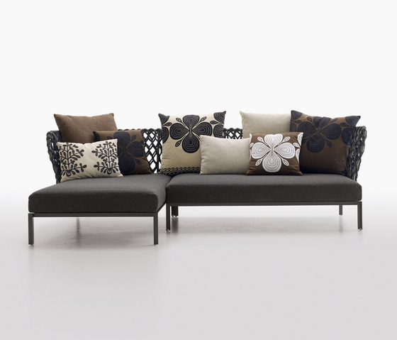 Ravel by B&B Italia | Garden sofas