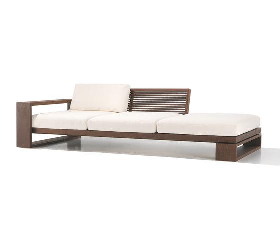 Landscape SF 4607 by Andreu World | Garden sofas