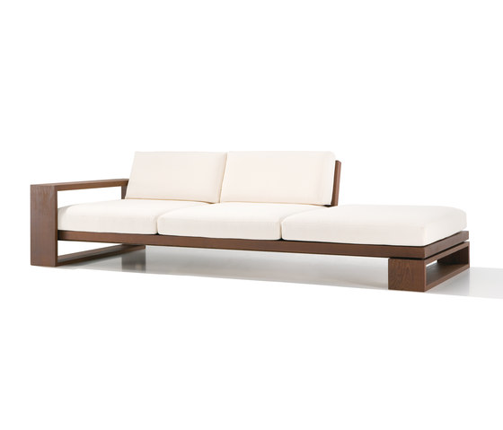 Landscape sf 4607 by andreu world garden sofas architonic for Sofa jardin madera