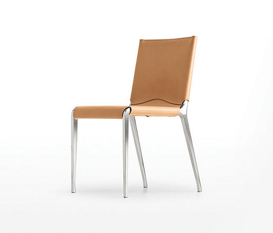 Bikappa Chair leather by Kristalia | Multipurpose chairs