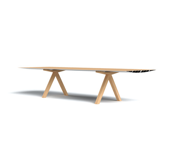 Table B Wood de BD Barcelona | Mesas para restaurantes