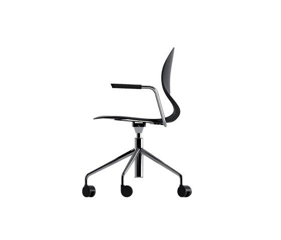 Pikaia Chaise pivotante de Kristalia | Chaises de travail