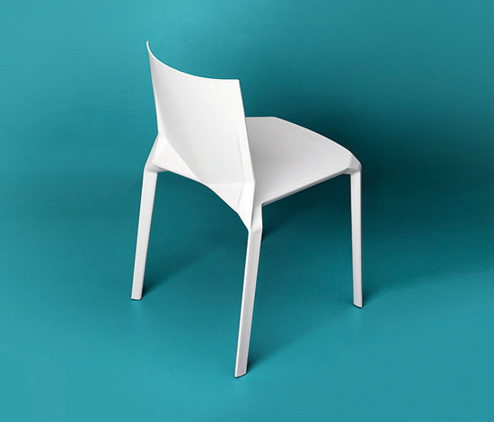 Plana Chair by Kristalia | Visitors chairs / Side chairs