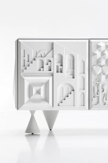 Tout va bien white by BD Barcelona | Sideboards