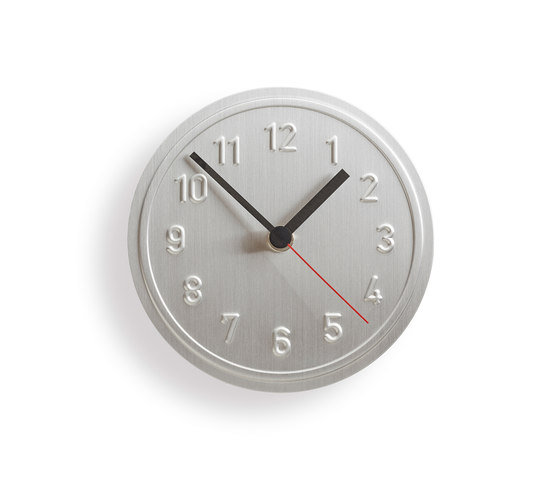 Alu Alu wall clock by Lampert | Clocks