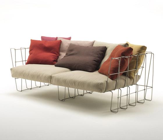 Hoop Sofa de Living Divani | Sofas de jardin