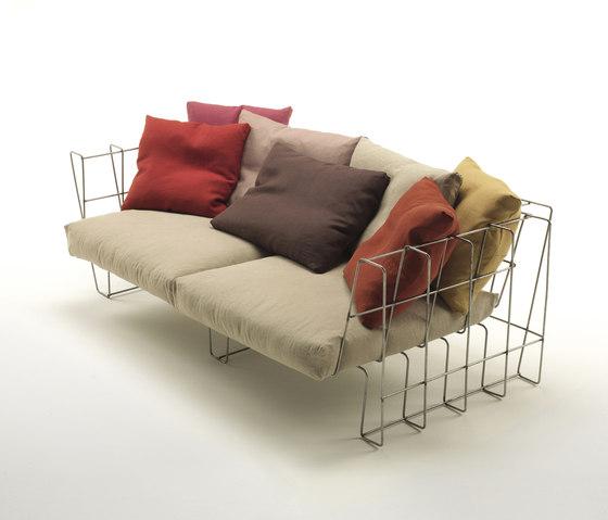 Hoop Sofa de Living Divani | Sofás de jardín