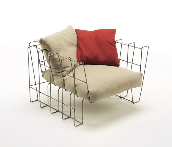 Hoop Armchair by Living Divani | Garden armchairs
