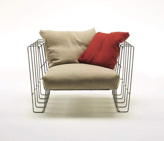 Hoop Armchair di Living Divani | Poltrone da giardino