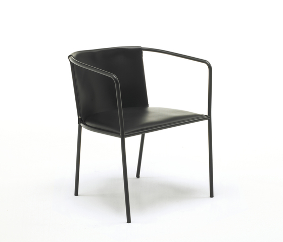 Maja D by Living Divani | Visitors chairs / Side chairs