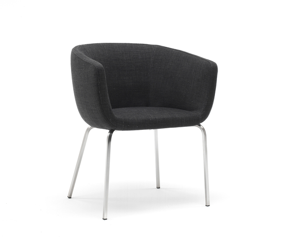 Nut by Living Divani | Visitors chairs / Side chairs