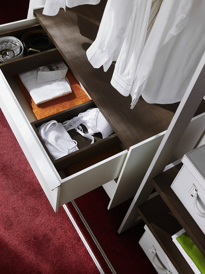 Cornice interior closet storage system de raumplus | Dressings