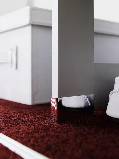 Cornice interior closet storage system by raumplus | Walk-in wardrobes