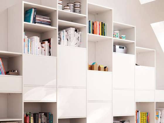 Ecoline interior closet storage system by raumplus | Shelves
