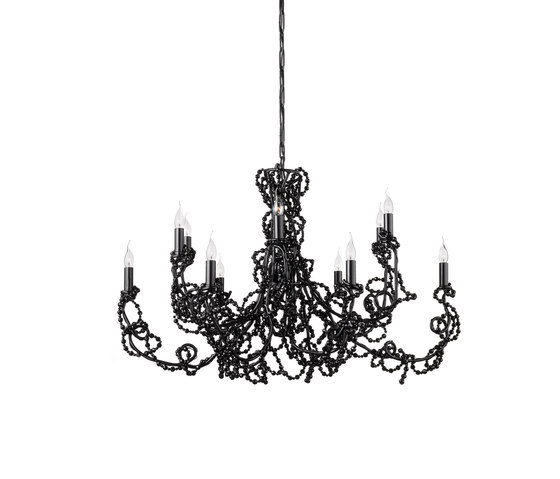 Coco chandelier oval by Brand van Egmond | Ceiling suspended chandeliers