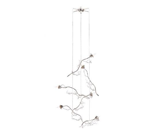 La Vie en Rose Single Roses by Brand van Egmond | Lighting objects