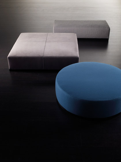 Brons Ottoman by Meridiani | Poufs