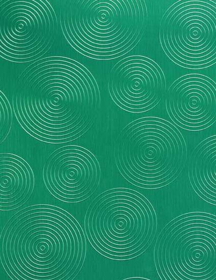 457/800 Alu Brushed Rondo Grasgrün von Homapal   Verbundwerkstoff Platten