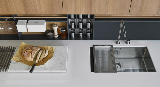 Twelve by Varenna Poliform | Fitted kitchens