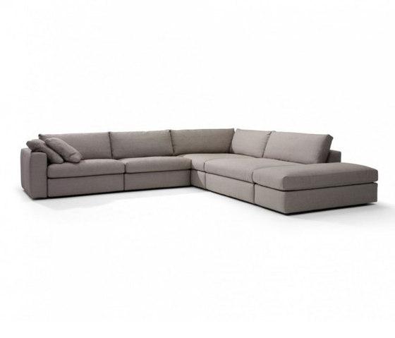 Carlo sofa di Linteloo | Sistemi di sedute componibili