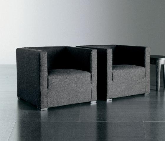 Belmon Sessel von Meridiani | Loungesessel