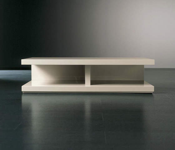 Cluny TV bench by Meridiani | Multimedia sideboards