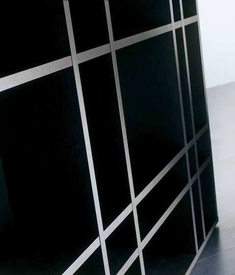 Lana Bookcase by Meridiani | Shelving systems