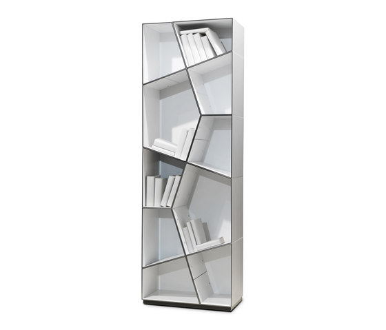 Pattern bookcases by Quodes | Shelving