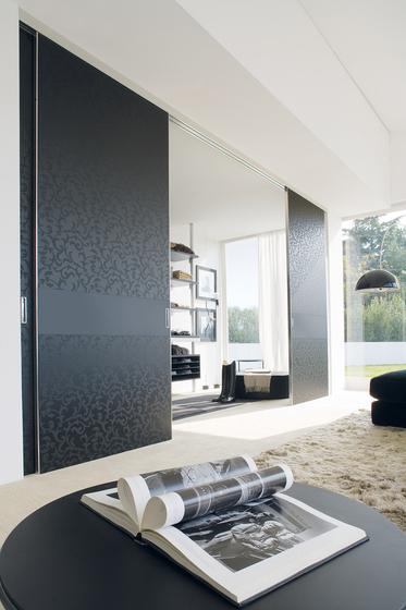 Quadra sliding by Albed | Internal doors