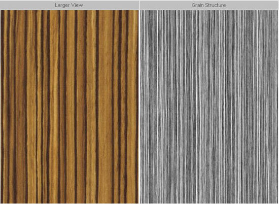 F9011 Zebrano by Formica | Composite panels