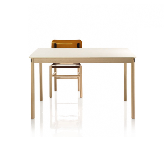 Trattoria Table by Magis | Canteen tables