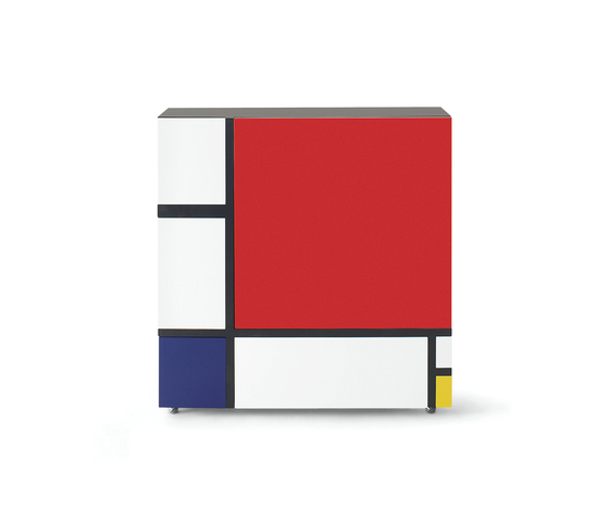 Homage to Mondrian 2 von Cappellini | Sideboards / Kommoden