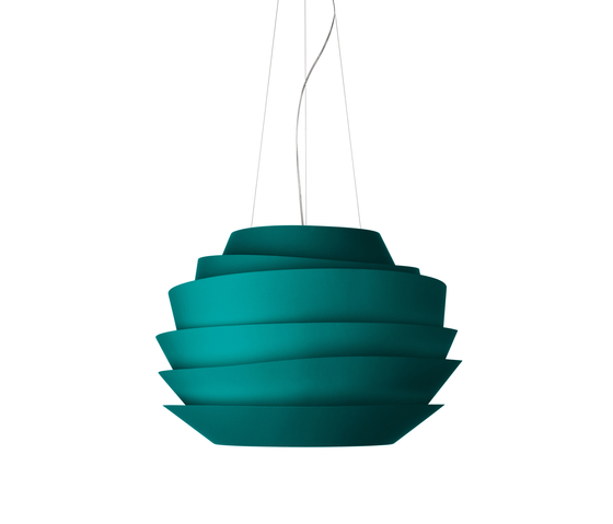 Le Soleil suspension aquamarine by Foscarini | Suspended lights