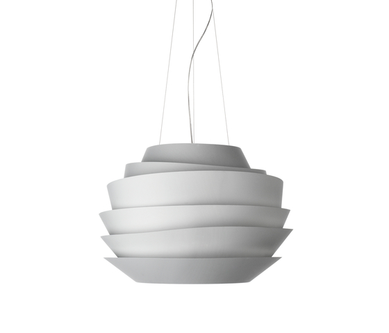 Le Soleil suspension white by Foscarini | General lighting