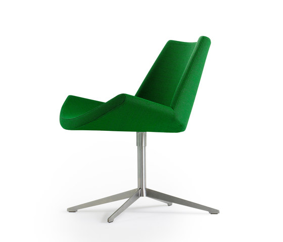 Lotus Swivel Chair by +Halle | Visitors chairs / Side chairs