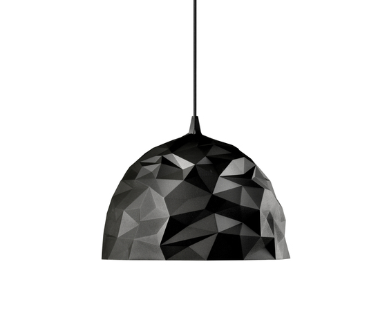 Rock suspension black by Diesel by Foscarini | General lighting