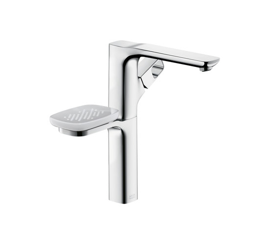 AXOR Urquiola Single Lever Basin Mixer DN15 with holder for wash bowls without pull rod by AXOR | Wash basin taps