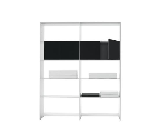 Fill bookcase system von Desalto | Regalsysteme