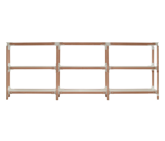 Steelwood Shelf by Magis | Office shelving systems
