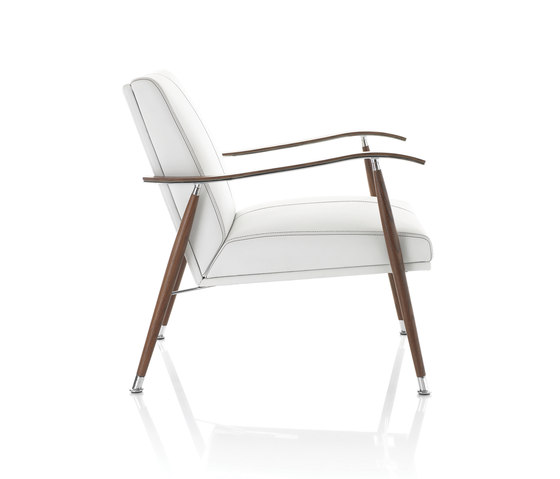 Sahara Wood Easy Chair by Lammhults | Lounge chairs