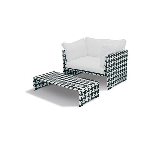 Slim Line D.D.C. Cambon by DEDON   Garden armchairs