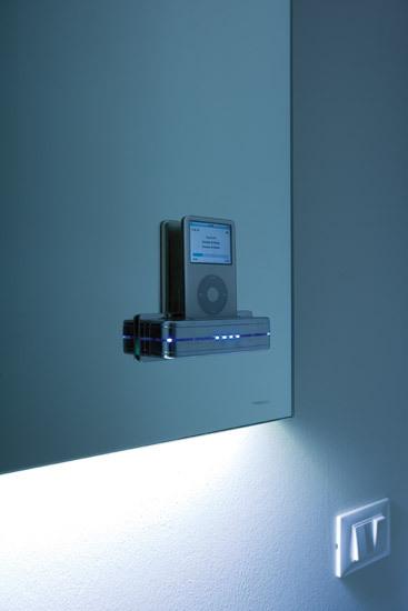 MP3 Mirror von antoniolupi | Wandspiegel