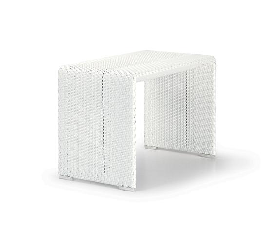 Slim Line Beistelltisch von DEDON | Garten-Beistelltische