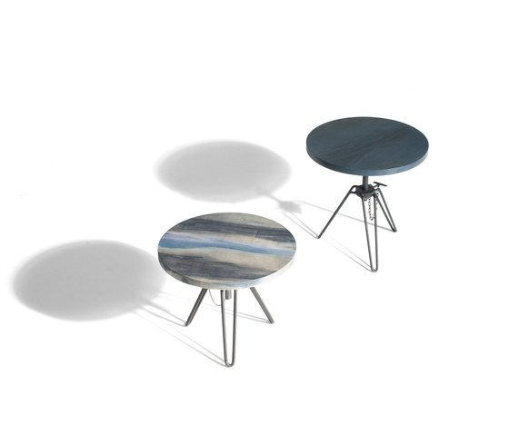 Overdyed Side Table de Diesel by Moroso | Mesas auxiliares