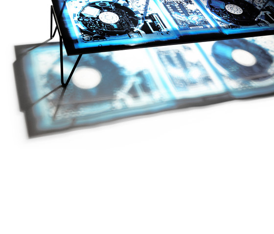 Xraydio Table di Diesel by Moroso | Tavolini salotto