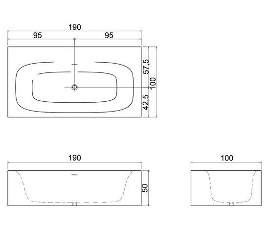 Sarto17 by antoniolupi | Free-standing baths
