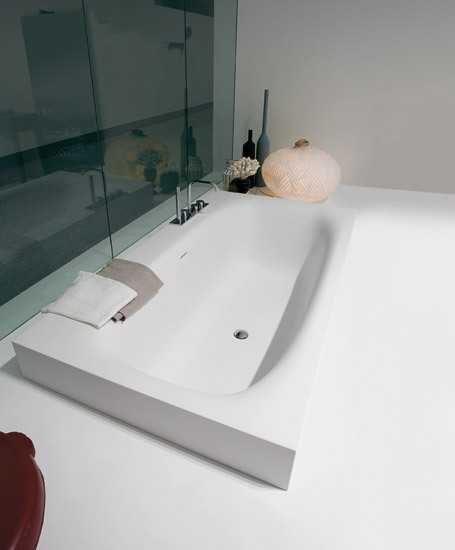 Sarto36 by antoniolupi | Built-in bathtubs